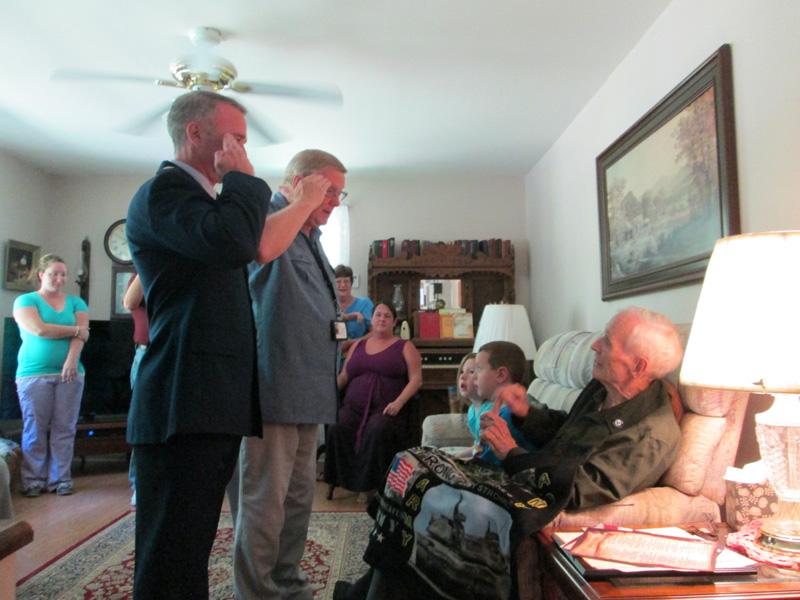 Veteran Solute Visiting Day