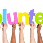 Volunter at Calvert Hospice