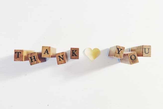 Thank you to fundraisers